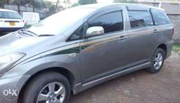 Toyota WISH car on a quick sale.