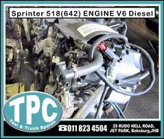 Mercedes SPRINTER 518 (642) Used ENGINE - V6 Diesel for sale at TPC