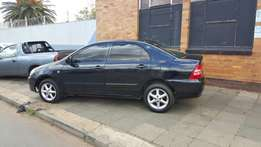 2007 Corolla Sedan 1.4 R 49000 not negotiable