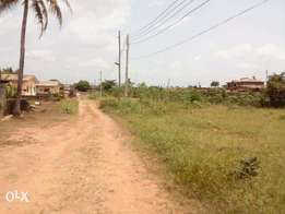 Four plots of land close to ait road Alagbado