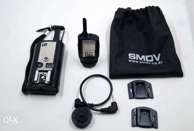 SMDV Flash Wave-3 Professional Flash Trigger & Release - 2.4GHz 16-Cha