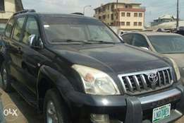 Land cruiser Prado with chilling air condition like ice.