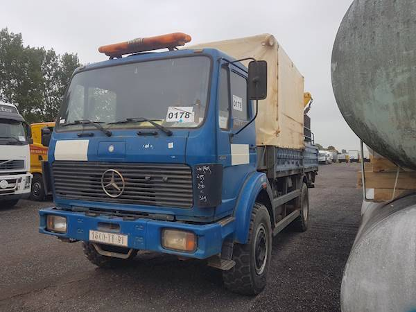 Mercedes-Benz 1017A 4X4 - 1988