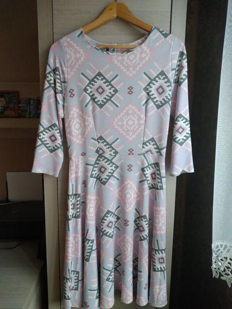 9d63a8df99 Sprzedam sukienkę róż. 38 kupiona w sklepie Jesteś Modna Elbląg • OLX.pl