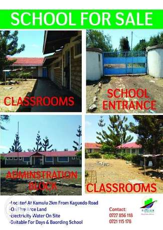 SCHOOL FOR SALE,Kamulu along kangundo road Ruai - image 1