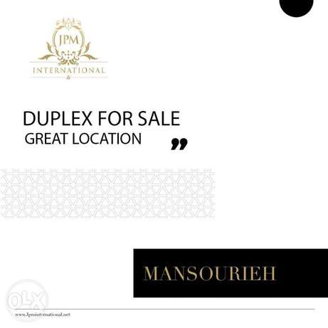 Duplex For Sale In Mansourieh-Great Location