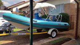 Manta Rubberduck with 55Hp Yamaha for Sale!!!