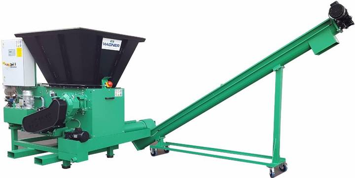 Wagner Shredder Full Pet Bottles / Alu. Can - 2019