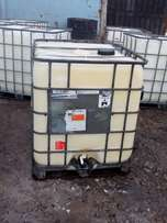 White Chemical tanks for sale at a good price