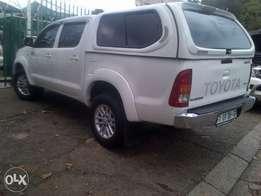2007 Toyota hilux D4D white 3.0 white for sale