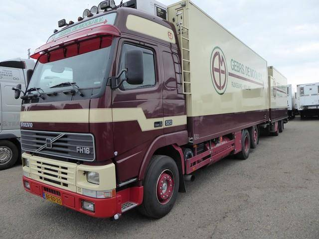 Volvo Fh 16 520 , 6x2 Euro 2, 108 M3, Manual , Carrier T - 1997