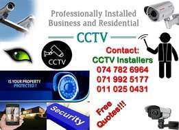 Professional CCTV installations and support