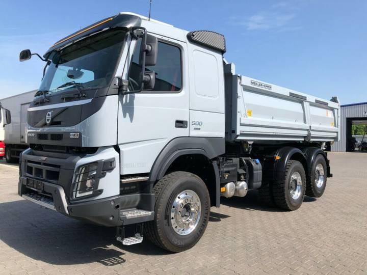 Volvo FMX500 6x4 LH1*Achslast*Xenon*AA Liftbar*VDS*