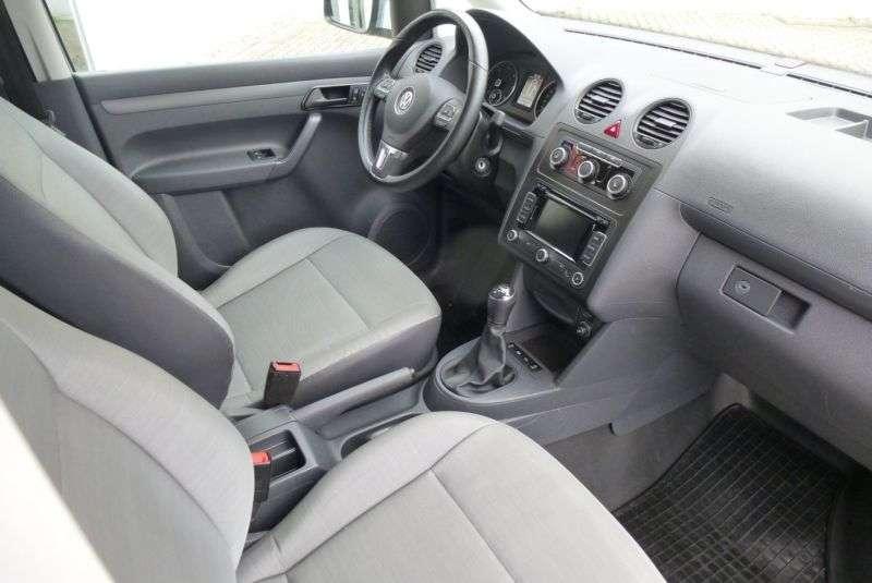 Volkswagen Caddy 1.6 TDI Kasten KLIMA SHZ TOP Zust. - 2015 - image 9