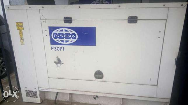 30kva used Perkins power generator for Sale Industrial Area - image 1