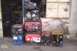 workshop and industrial machines repair and maintance.