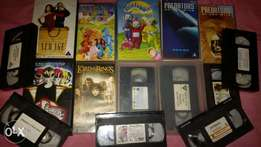 15 video tapes for sale despatch
