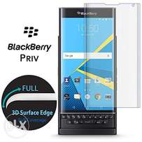 Blackberry Priv Durable Tempered Glass Crystal Clear