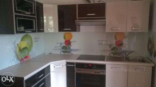 Ogromny Szkło do kuchni lacobel lakierowane panel szklany grafika na szkle EZ58