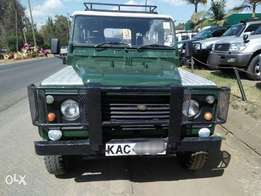 Quick sale on this well maintained Land Rover Defender 110 KAC