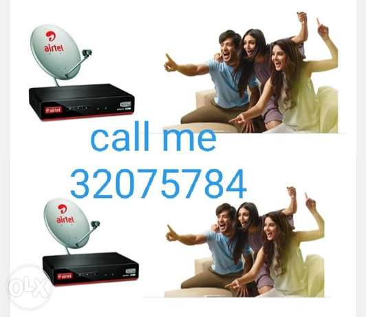 Airtel dish and arobsat and nilesat dish fix call me