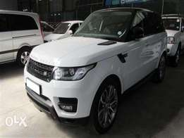 Automatic RANGE ROVER Sport 5.0 V8 S/C HSE