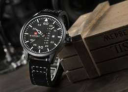 Navy force black legit watch