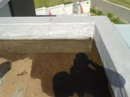 Torch on waterproofing