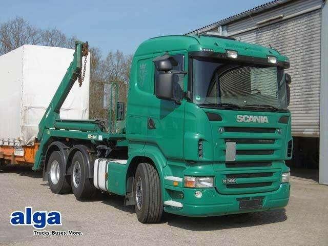 Scania R 380 Lb, Meiller, Ak 16t, Luft, Lift, 3 Achser. - 2006