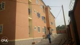 Newly built 3 bedroom flat with a room bq for rent in Katampe Mpape