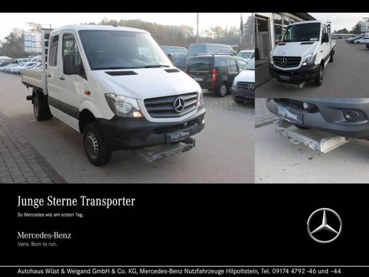 Mercedes-Benz Sprinter 519 CDI 4x4 Doka+Kipper+Winterdienst - 2014