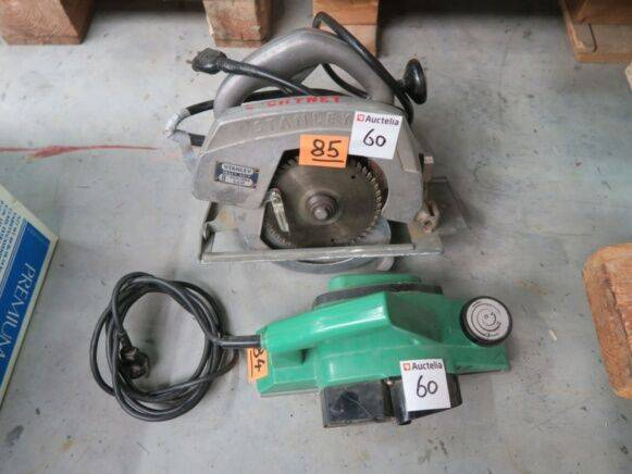Stanley h85c woodworking machinery for sale by auction