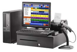 Normal Computer Non-Touch Screen Monitor Point of Sale System