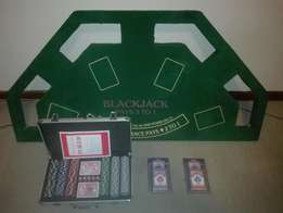 Poker set & table top