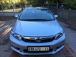 Honda Civic Executive 2012 Automatic 1.8 84000 km R159000 Silver Petro