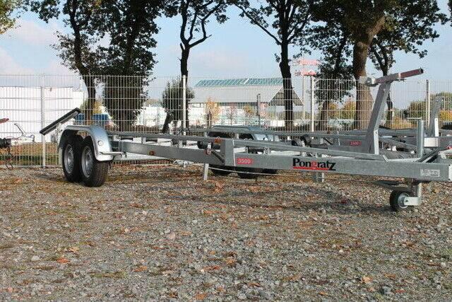 Pongratz PBA 3500 T gebremst,incl. Seilwinde, 900mm Boots