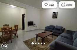 Spacious Fully Furnished 2 Bedrooms