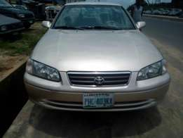 Super Clean Nigerian used Toyota Camry big light 2001 Model