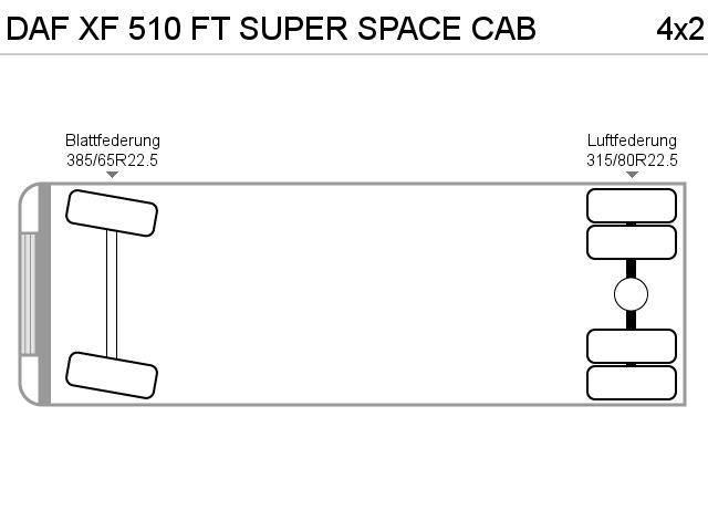 DAF XF 510 FT SUPER SPACE CAB - 2017 - image 12