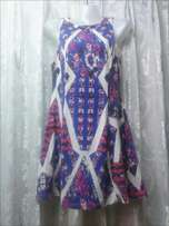 Patterned medium sized dress