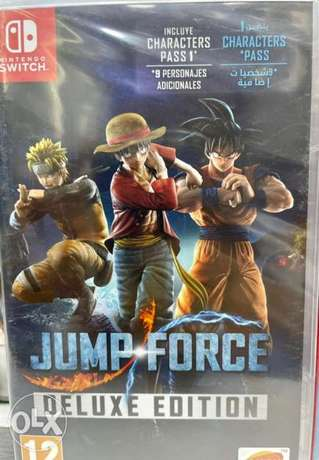 Jump Force Deluxe Edition Nintendo Switch (New!)