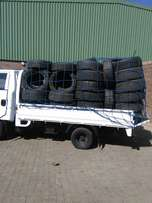 cross boarder1.4 ton truck for hire