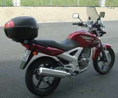 Wanted!!! Honda CBX 250cc Twister topbox with rack