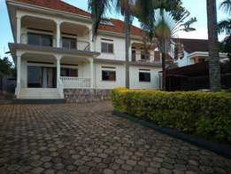 4 bedroom partly furnished mansion for rent at Muyenga