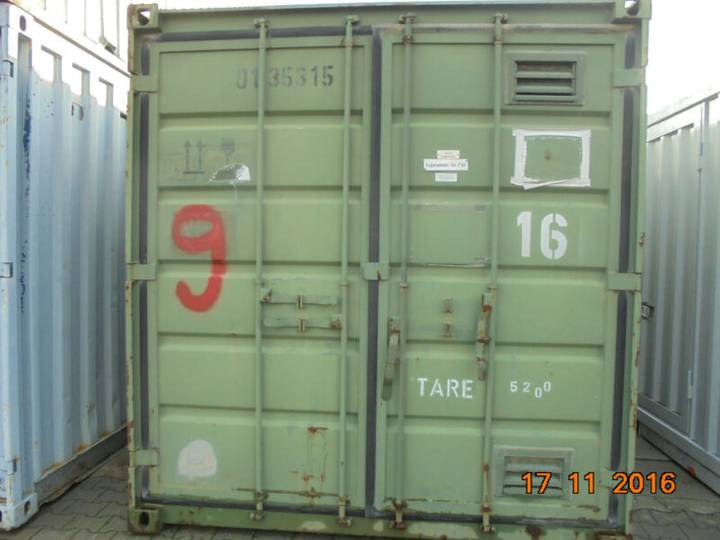 20 Fuß Heizungs Container MA 9