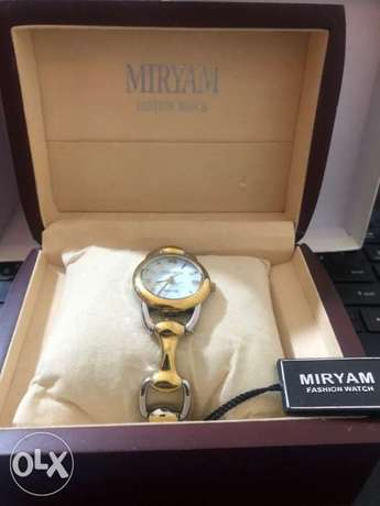 Myriam watch new in box for 200000 L.L.