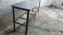 Large steel table