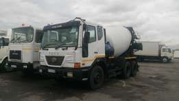 TATA 6 Cube Concrete Mixer For Sale