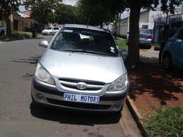 2006 Hyundai Getz 1.8, mileage 250000 for sale