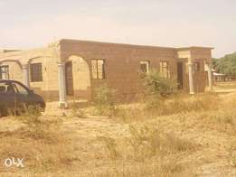 Sweet massive 3 bedroom uncompleted building for sale.